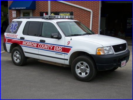 Ems Supervisor 9 Morrow County Emergency Medical Services